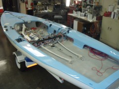 Infinity yacht services fiberglass and gelcoat repair for Outboard motor repair san diego
